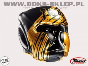 Kask sparingowy - TWINS FHG-TW2 Black-Gold