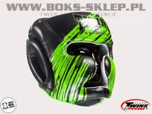 Kask sparingowy - TWINS FHG-TW2 Black-Green