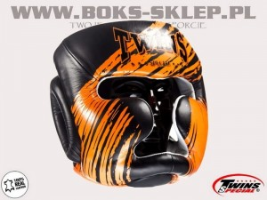 Kask sparingowy - TWINS FHG-TW2 Black-Orange