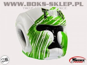 Kask sparingowy - TWINS FHG-TW2 White-Green