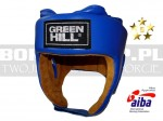 AIBA Green Hill - Kask bokserski FIVE STAR z AIBA Blue - HGF-4013A