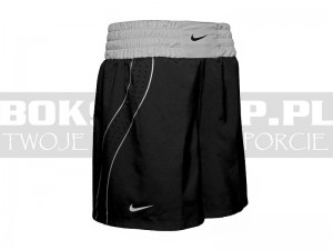 NIKE - Spodenki bokserskie Boxing Shorts - Black