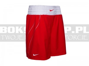 NIKE - Spodenki bokserskie Boxing Shorts - Red