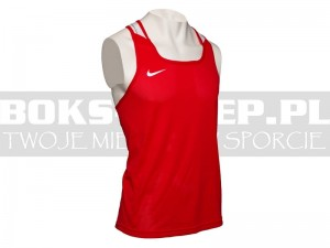 NIKE - Koszulka bokserska Boxing Top - Red