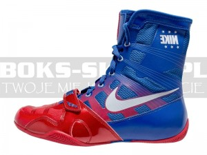 Buty bokserskie NIKE HyperKO - Blue-Red New Model