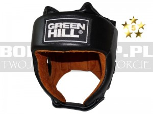 Kask bokserski Green Hill FIVE STAR black - HGF-4013