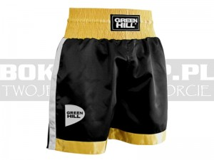 Spodenki bokserskie Green Hill PIPER Black-Gold - BSP-3775
