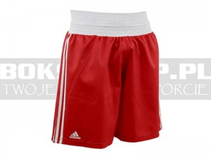 Adidas - Spodenki bokserskie BOXING SHORTS Red - ADIBTS02