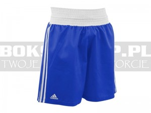 Adidas - Spodenki bokserskie BOXING SHORTS Blue - ADIBTS02