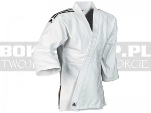 350gsm - Judoga juniorska Adidas CLUB White-Black