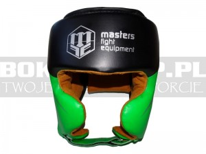 Kask sparingowy Masters KSTOP-PU-FT - black-green
