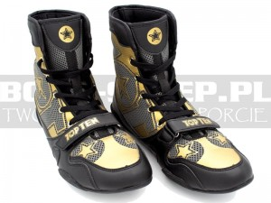 Buty bokserskie TOP TEN Generation 2020 - Black-Gold