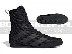 Buty bokserskie ADIDAS BOX HOG 3 Black -F99921