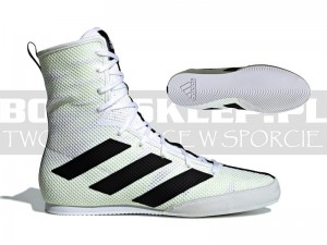 Buty bokserskie ADIDAS BOX HOG 3 White -F99919