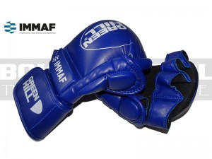 Rękawice MMA Green Hill MMI-601 Blue - approved IMMAF