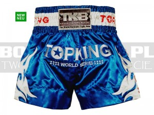 Thai-Boxing - Spodenki krótkie TOP KING TKTBS-WS World Series Blue
