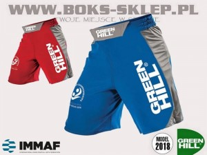 Spodenki MMA Green Hill MMS-580 - approved IMMAF