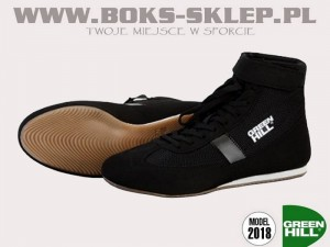 Buty bokserskie GREEN HILL 2018 - SSB-1802 Black