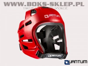 Kask turniejowy - QUANTUM Revolution Red