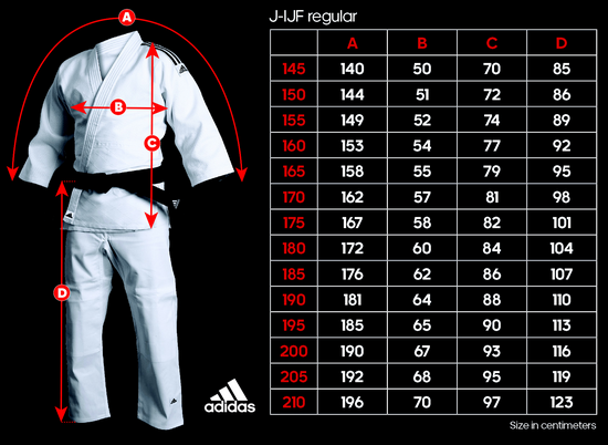Adidas judo suits Approved IJF White