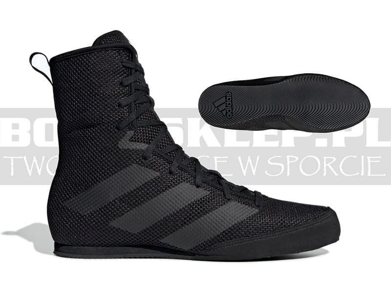 adidas boxhog ii boxing shoes - black